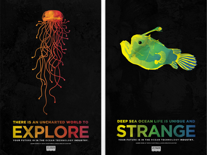 Ocean STEM Education Posters - House of Thuan